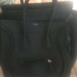Celine Mini Luggage Black